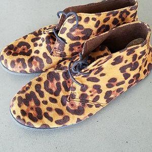 Misbehave Leopard Chukka Boots